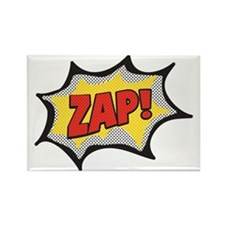 Comic Zap Rectangle Magnet