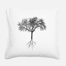 Tree Square Canvas Pillow