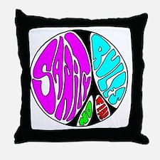peace7 Throw Pillow
