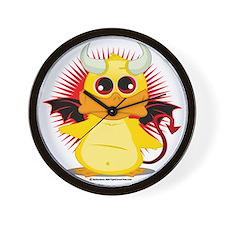 Devil-Duck Wall Clock