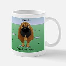 BloodhoundDroolCard Mug