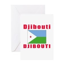 Djibouti Djibouti Designs Greeting Card