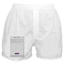 NatureBackCover Boxer Shorts
