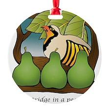 PartridgeInPearTree Ornament