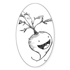 happy radish Decal