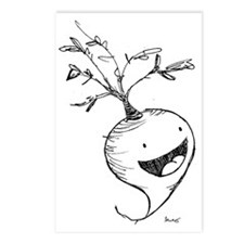 happy radish Postcards (Package of 8)