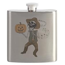 Mexican Halloween Flask