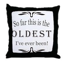 Oldest Throw Pillow