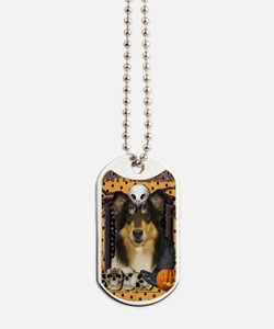 HalloweenNightmare_Collie_Caroline Dog Tags