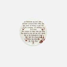 New Moon Its Just Jacob  Mini Button