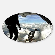 USAF PJ FPP Sticker (Oval)