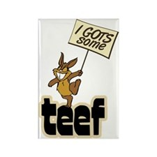 i_have_teef Rectangle Magnet