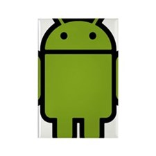 Android-Stroked-Black-New Rectangle Magnet