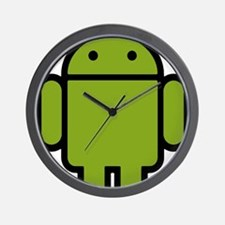Android-Stroked-Black-New Wall Clock