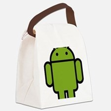 Android-Stroked-Black-New Canvas Lunch Bag
