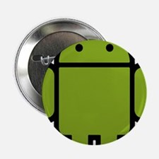 """Android-Stroked-Black-New 2.25"""" Button"""