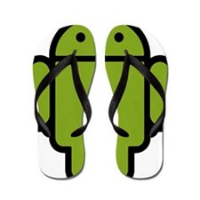 Android-Stroked-Black-New Flip Flops
