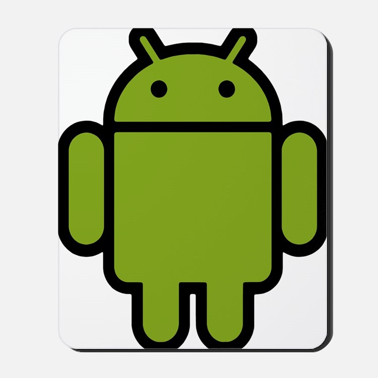 Android-Stroked-Black-New Mousepad