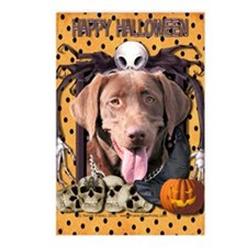 HalloweenNightmare_Labrad Postcards (Package of 8)