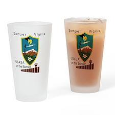 BorderSitesTshirt Drinking Glass