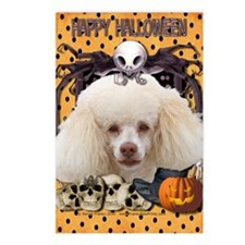 HalloweenNightmare_Poodle Postcards (Package of 8)