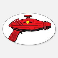 RaygunRed Sticker (Oval)
