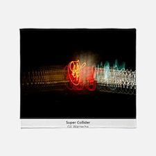 Super Collider Throw Blanket