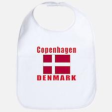 Copenhagen Denmark Designs Bib