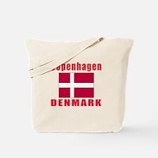 Copenhagen Denmark Designs Tote Bag