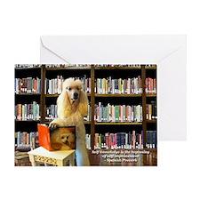 knowlege PAGE Greeting Card