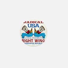 Right Wing Conservative Mini Button