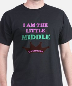 I am the little middle princess T-Shirt