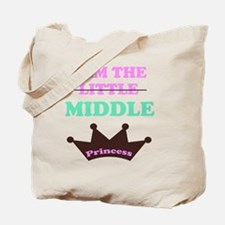 I am the little middle princess Tote Bag