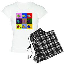 balls of colourful yarn Pajamas