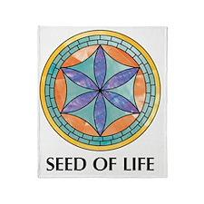 seedoflife_pearl.... Throw Blanket