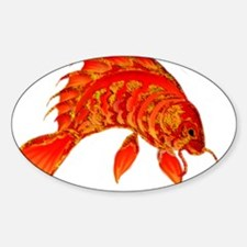 GoldenJewel Sticker (Oval)
