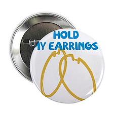 """earrings 2.25"""" Button"""