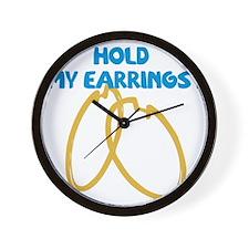 earrings Wall Clock