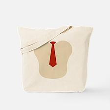 Ape Necktie Tote Bag