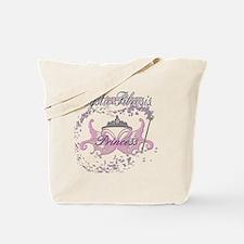 Cystic Fibrosis Princess Warrior in Pink Tote Bag