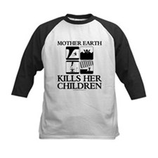 Mother Earth Kills Her Children Baseball Jersey