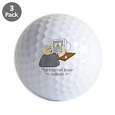 light internet shirt Golf Ball