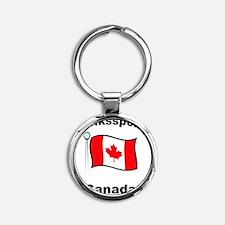 Volkssport Canada Round Keychain