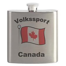 Volkssport Canada Flask