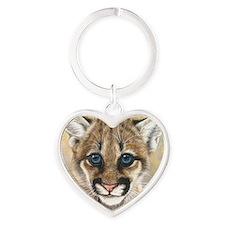 Cougar Cub2 1000 Heart Keychain