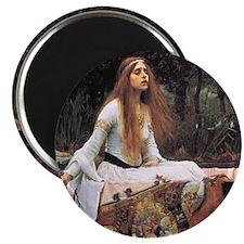 Lady of Shalott by Waterhouse Magnet