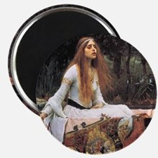 Lady of Shalott by Waterhouse Magnet