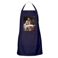 Lady of Shalott by Waterhouse Apron (dark)