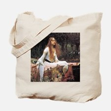 Lady of Shalott by Waterhouse Tote Bag