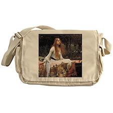 Lady of Shalott by Waterhouse Messenger Bag